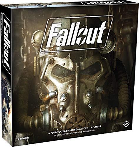 Fantasy Flight Games FFGD0161 Fallout: Das Brettspiel, Merhfarbig, Bunt