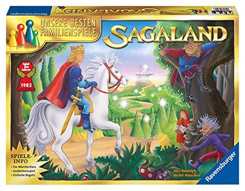 Ravensburger Gesellschaftsspiel 26424 – Sagaland – Familienspiel ab 6 Jahren