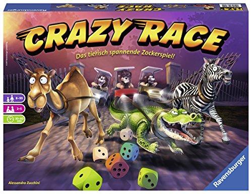 Ravensburger 26725 – CRAZY RACE Familienspiel