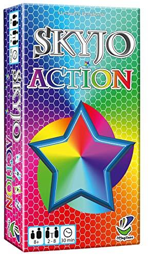 Magilano – SKYJO Action – Das aufregende Kartenspiel für spaßige und amüsante Spieleabende im Freundes- und Familienkreis.