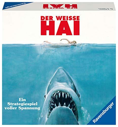 Ravensburger Gesellschaftsspiel 26799 – Der weisse Hai – Spannendes Brettspiel ab 12 Jahren