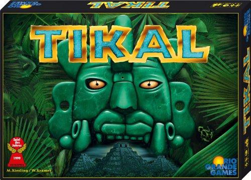 ABACUSSPIELE 13051 – Tikal. Spiel des Jahres 1999, Brettspiel