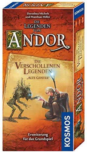 Kosmos 690908 – Die Legenden von Andor – Die verschollenen Legenden Alte Geister, Erweiterung für das Grundspiel Die Legenden von Andor, ab 10 Jahren, Fantasy-Brettspiel