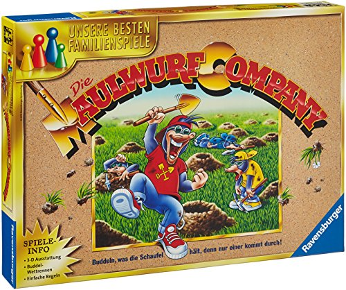 Ravensburger 26423 Familienspiele Die Maulwurf Company