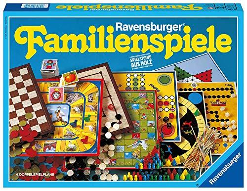 Ravensburger Spielesammlung 01315 – Dame, Mühle, memory und mehr – Brettspiele ab 4 Jahren