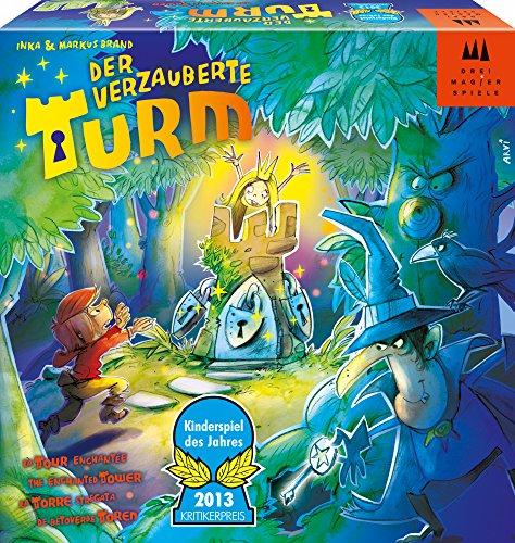 Schmidt Spiele Drei Magier Spiele 40867 – Der verzauberte Turm, Kinderspiel des Jahres 2013
