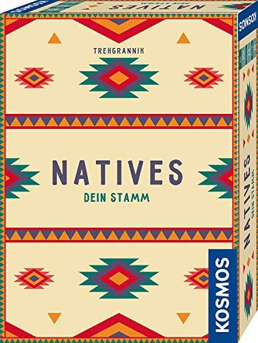 KOSMOS 695033 Natives – Dein Stamm, Brettspiel