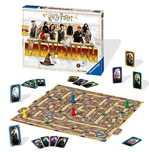 Ravensburger 26031 – Harry Potter Labyrinth, Familienspiel