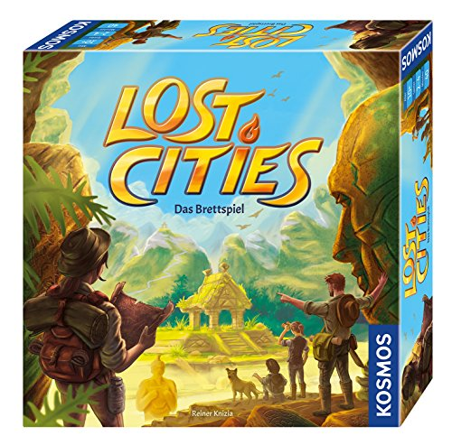 KOSMOS Spiele 694128 – Lost Cities – Das Brettspiel