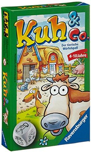 Ravensburger 23160 – Kuh und Co. – Mitbringspiel