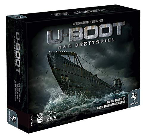 Pegasus Spiele 57006G – U-BOOT – Das Brettspiel
