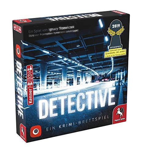 Pegasus Spiele 57505G – Detective (deutsche Ausgabe)