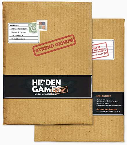 Hidden Games Tatort Krimispiel, Escape Room Spiel