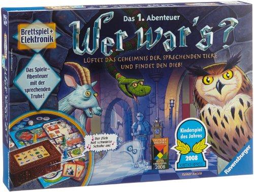 Ravensburger Kinderspiel 21854 – Wer war's? – Spiel für Kinder ab 6 Jahren