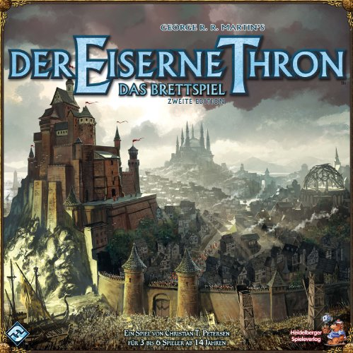Heidelberger Spieleverlag HE416 – Der Eiserne Thron, 2nd Edition