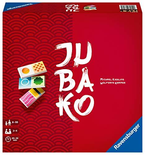 Ravensburger Gesellschaftsspiel 26818 – Jubako – Brettspiel ab 8 Jahren