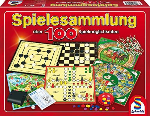 Schmidt Spiele 49147 – Spielesammlung, MIt 100 Spielmöglichkeiten