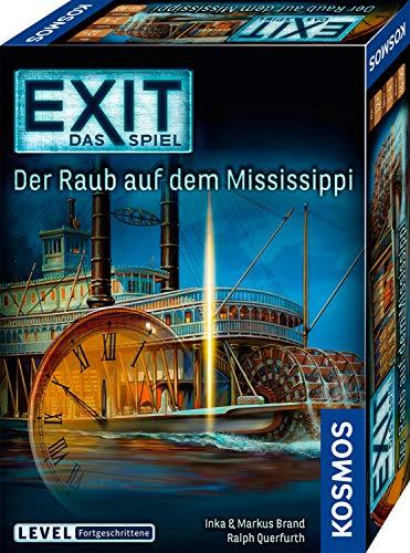 KOSMOS 691721 EXIT – Das Spiel – Der Raub auf dem Mississippi, Level: Fortgeschrittene, Escape Room Spiel