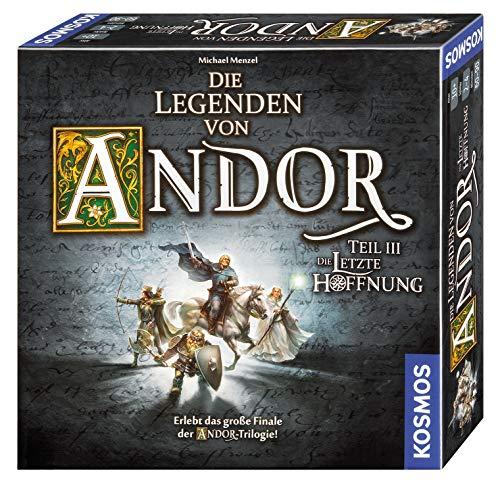 Kosmos 692803 – Die Legenden von Andor – Teil III Die letzte Hoffnung, Fantasy-Brettspiel ab 10 Jahre, das große Finale der Andor-Trilogie, eigenständiges Spiel