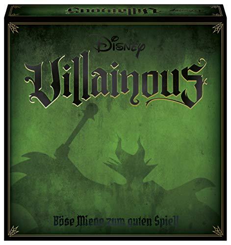 Ravensburger Gesellschaftsspiel 26055 – Disney Villainous – Spannendes Brettspiel ab 10 Jahren