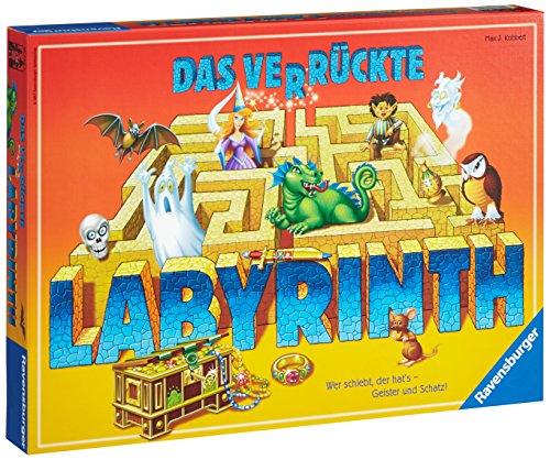 Ravensburger Gesellschaftsspiel 26446 – Das verrückte Labyrinth – Familienspiel ab 7 Jahren