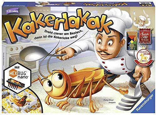 Ravensburger Kinderspiel 22212 – Kakerlakak – Spiel für Kinder ab 5 Jahren