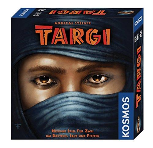Kosmos 691479 – Targi Hitziges Spiel für Zwei um Datteln, Salz und Pfeffer, Brettspiel