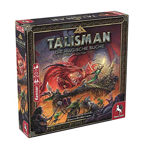 Pegasus Spiele 56200G – Talisman – Die Magische Suche, 4. Edition