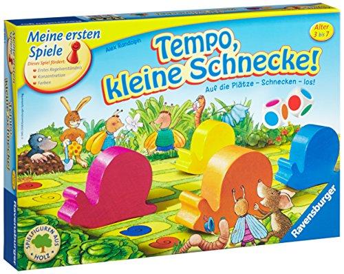 Ravensburger Kinderspiel 21420 – Tempo, kleine Schnecke! – Spiel für Kinder ab 3 Jahren