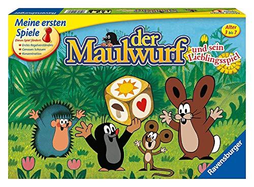 Ravensburger 21570 Lustige Kinderspiele Maulwurf und Sein Lieblingsspiel