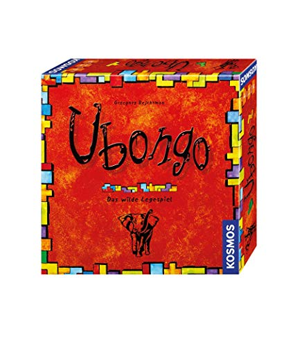 Kosmos 692339 – Ubongo, Das wilde Legespiel, Brettspiel-Klassiker für 1-4 Spieler ab 8 Jahren, Edition 2015