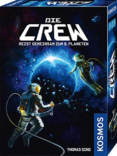 KOSMOS 691868 Die Crew – Reist gemeinsam zum 9. Planeten. Kooperatives Kartenspiel als Weltraum-Abenteuer, für 2 – 5 Spieler, spannendes Gesellschaftsspiel ab 10 Jahren