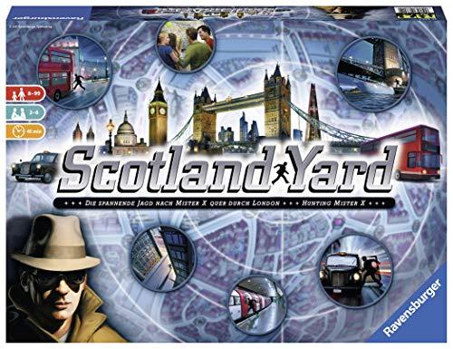 Ravensburger Gesellschaftsspiel 26601 – Scotland Yard – Brettspiel ab 8 Jahren