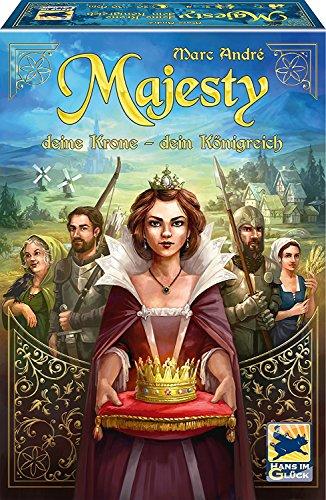 Schmidt Spiele 48275 Majesty: Deine Krone – Dein Königreich, Hans im Glück