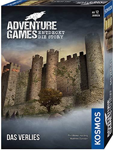 KOSMOS 695088 – Adventure Games – Das Verlies. Entdeckt die Story Kooperatives Gesellschaftsspiel