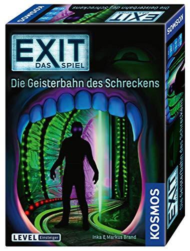 KOSMOS 697907 EXIT – Das Spiel – Die Geisterbahn des Schreckens, Level: Einsteiger, Escape Room Spiel