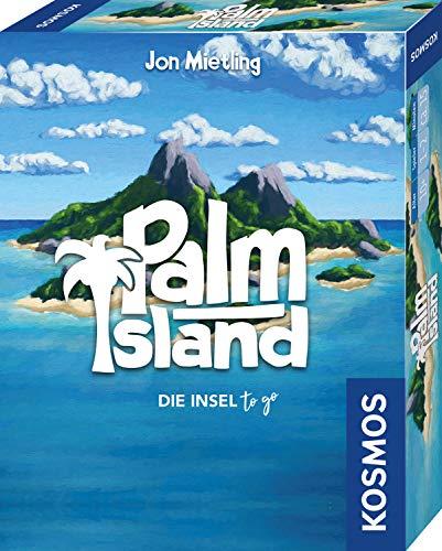 KOSMOS 741716 – Palm Island, Die Insel to go, Spielt sich bequem in einer Hand, Kartenspiel für 1 bis 2 Spieler ab 10 Jahren