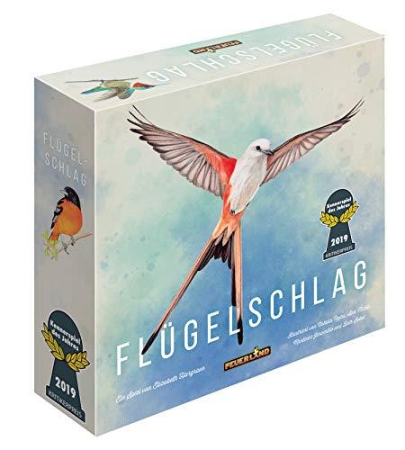 Feuerland Spiele 63558 FLÜGELSCHLAG Brettspiel Deutsche Edition – Kennerspiel des Jahres 2019 (Kritikerpreis)