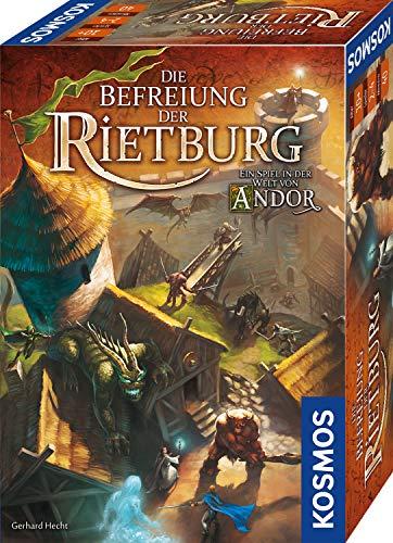 KOSMOS 695064 – Die Befreiung der Rietburg, Ein Spiel in der Welt von Andor, Brettspiel für 2 bis 4 Spieler ab 10 Jahren, Fantasy-Spiel