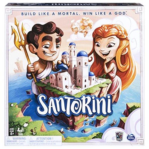 Spin Master Games 6040699 – Santorini – taktisches 3D-Brettspiel