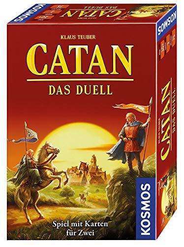 KOSMOS 693732 – CATAN – Das Duell, Strategiespiel, Spiel mit Karten für 2 Spieler