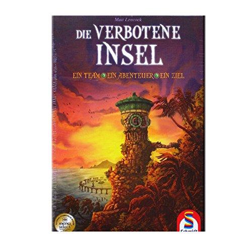 Schmidt Spiele 49013 Die verbotene Insel, Koorperatives Strategiespiel, bunt