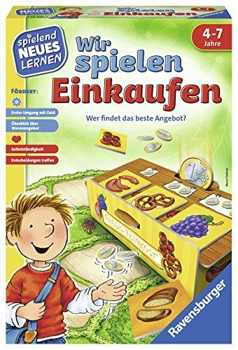Ravensburger 24985 – Wir spielen Einkaufen – Spielen und Lernen für Kinder, Lernspiel für Kinder ab 4-7 Jahren, Spielend Neues Lernen für 2-4 Spieler