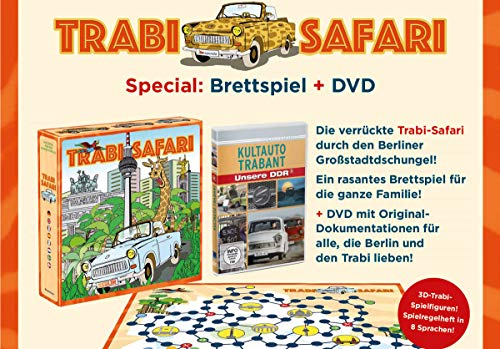 Kultauto Trabant (+ Brettspiel Trabi Safari)