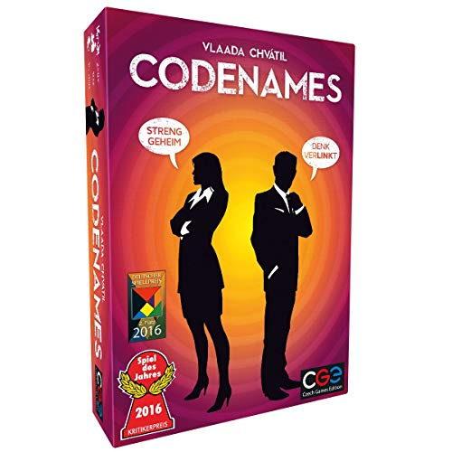 Asmodee Codenames, Familienspiel, Kartenspiel, Deutsch
