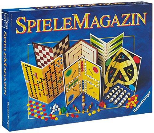 Ravensburger 26301 – Spiele Magazin, Spielesammlung mit vielen Möglichkeiten für 2-4 Spieler, Gesellschaftsspiel ab 6 Jahren, die besten Familienspiele