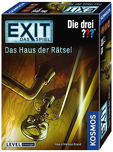 Kosmos 694043 – EXIT – Das Spiel – Das Haus der Rätsel – Die Drei??? Level: Einsteiger, Escape Room Spiel