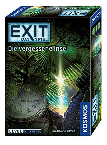 Kosmos 692858 – EXIT – Das Spiel – Die vergessene Insel, Level: Fortgeschrittene, Escape Room Spiel, Bunt