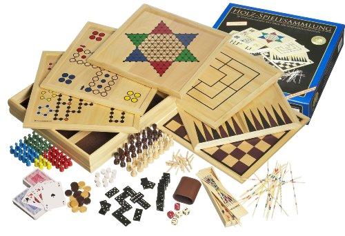 Philos 3102 – Holz-Spielesammlung mit 100 Spielmöglichkeiten