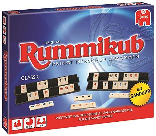 Jumbo Spiele 17571 – Original Rummikub Classic – Gesellschaftsspiel – Ab 7 Jahren